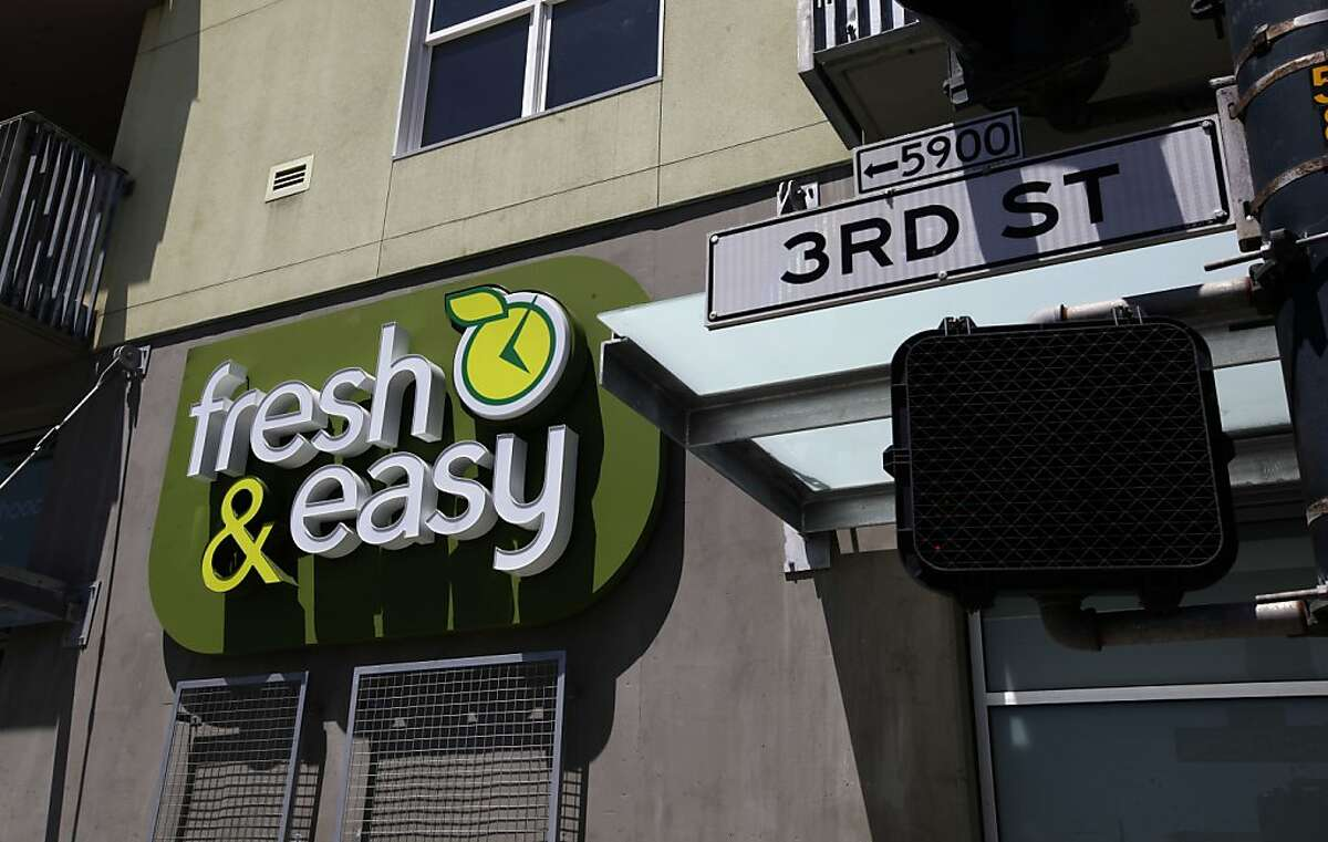 The Fresh & Easy grocery store chain, on Thursday July 21, 2011, in San Francisco, Ca., is opening a new store at the 5800 Third street Project. For years, San Francisco's Bayview neighborhood was regarded as a high crime area more for drug dealers than chic store front. Developers of the 5800 Third Street project are trying to change that with their 137 housing units complex which includes two well-known restauranteurs who will be opening there soon.