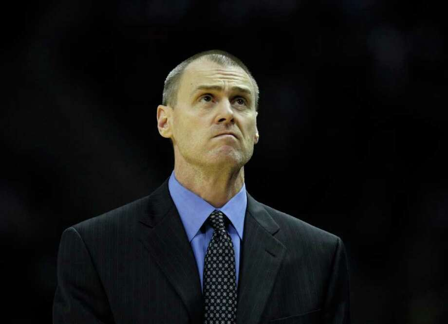 Dallas Mavericks head coach Rick Carlisle during first half action against the Spurs Thursday Jan. 5, 2012 at the AT&T Center. Photo: KEVIN MARTIN, Express-News / SAN ANTONIO EXPRESS-NEWS (NFS)