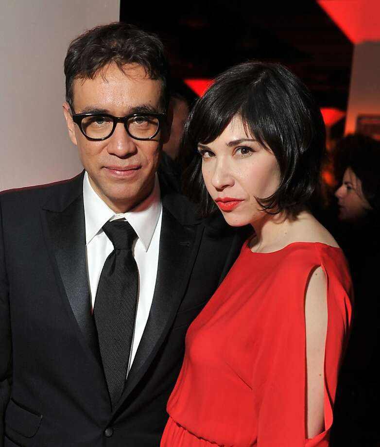 "NEW YORK, NY - JANUARY 05:  Actor Fred Armisen and actress/singer Carrie Brownstein attend the ""Portlandia"" season 2 premiere screening at the American Museum of Natural History on January 5, 2012 in New York City.  (Photo by Stephen Lovekin/Getty Images) Photo: Stephen Lovekin, Getty Images"