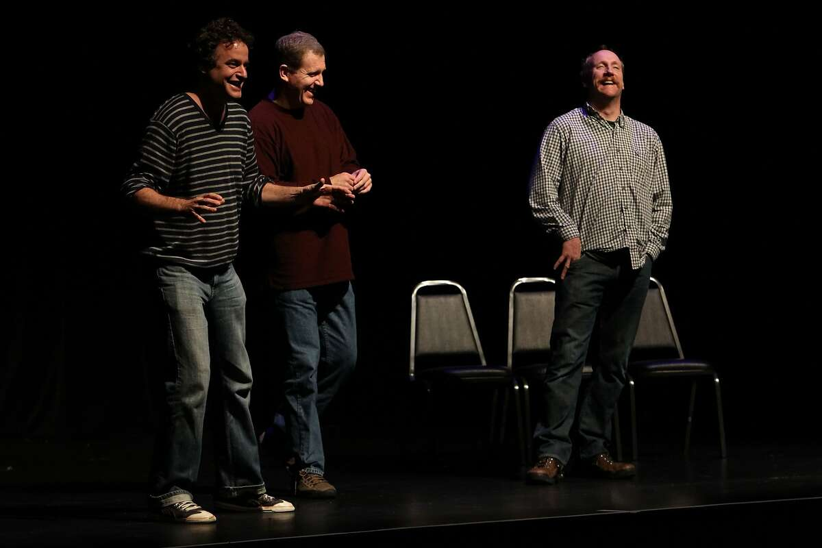 Matt Besser, Ian Robert and matt Walsh of Upright Citizens Brigade The 10th annual SF Sketchfest is a comedy festival held at 8 venues in San Francisco from January 13 - February 5, 2011. (© 2011 Photo by Jakub Mosur)