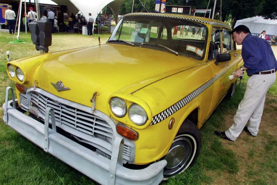 The great thing about Checker taxicabs was that they continued to  look like a car from the 1960s through the end of their production run,  in 1982. Ford just stopped making the Crown Victoria, which took over  from Checker as the iconic cab model. Photo: Alex Wong, Getty Images / Getty Images North America