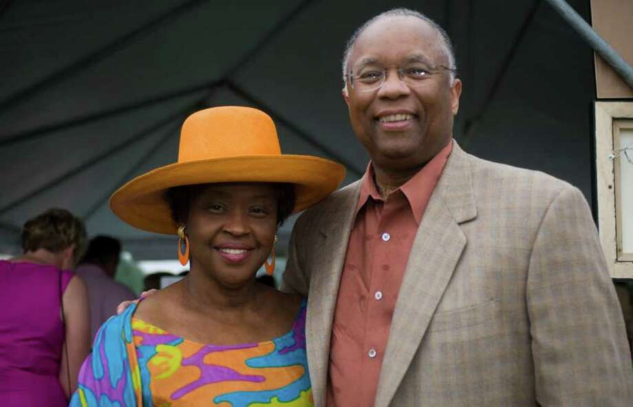 Brenda and Larry Thompson, of Greenwich. The couple. who amassed one of the nation's major private collections of African-American art. is donating 100 works to the Georgia Museum of Art in Athens. The Thompsons also will fund a new curatorial position at the museum. Photo: Contributed Photo