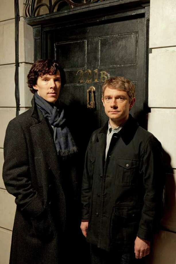 "Supporting actor/miniseries: Martin Freeman (right), ""Sherlock,"" PBS Photo: PBS"