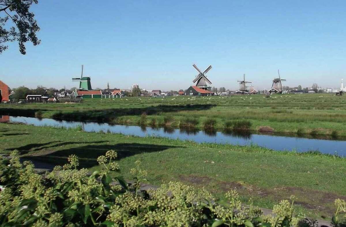 A Netherlands landscape.