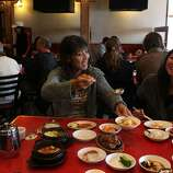 Square 15: Han Il Kwan offers very good versions of traditional Korean dishes.