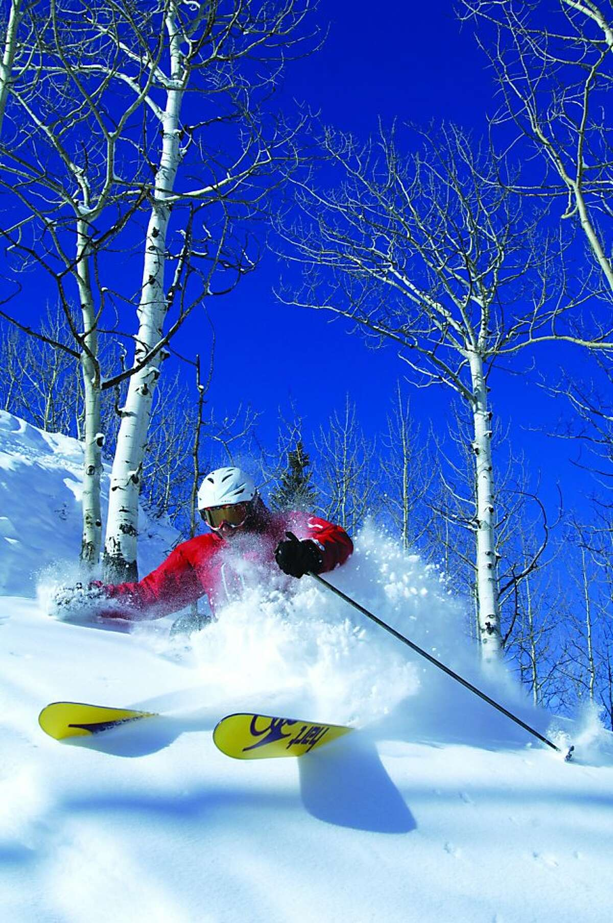 Powder skiing at Crested Butte Mountain Resort.