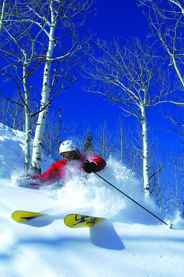 Powder skiing at Crested Butte Mountain Resort. Photo: Nathan Bilow, Houston Chronicle