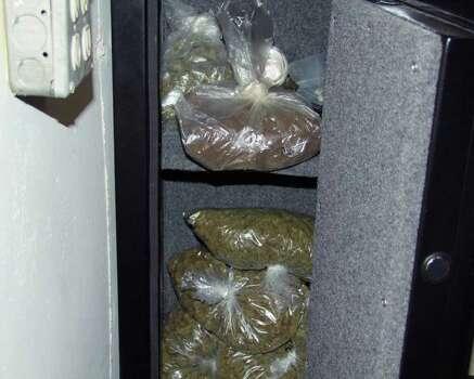 Marijuana found during an East Greenbush police investigation. (East Greenbush police photo)