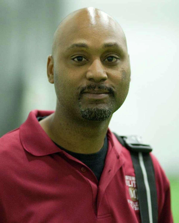 Militia coach Lonnie Young.