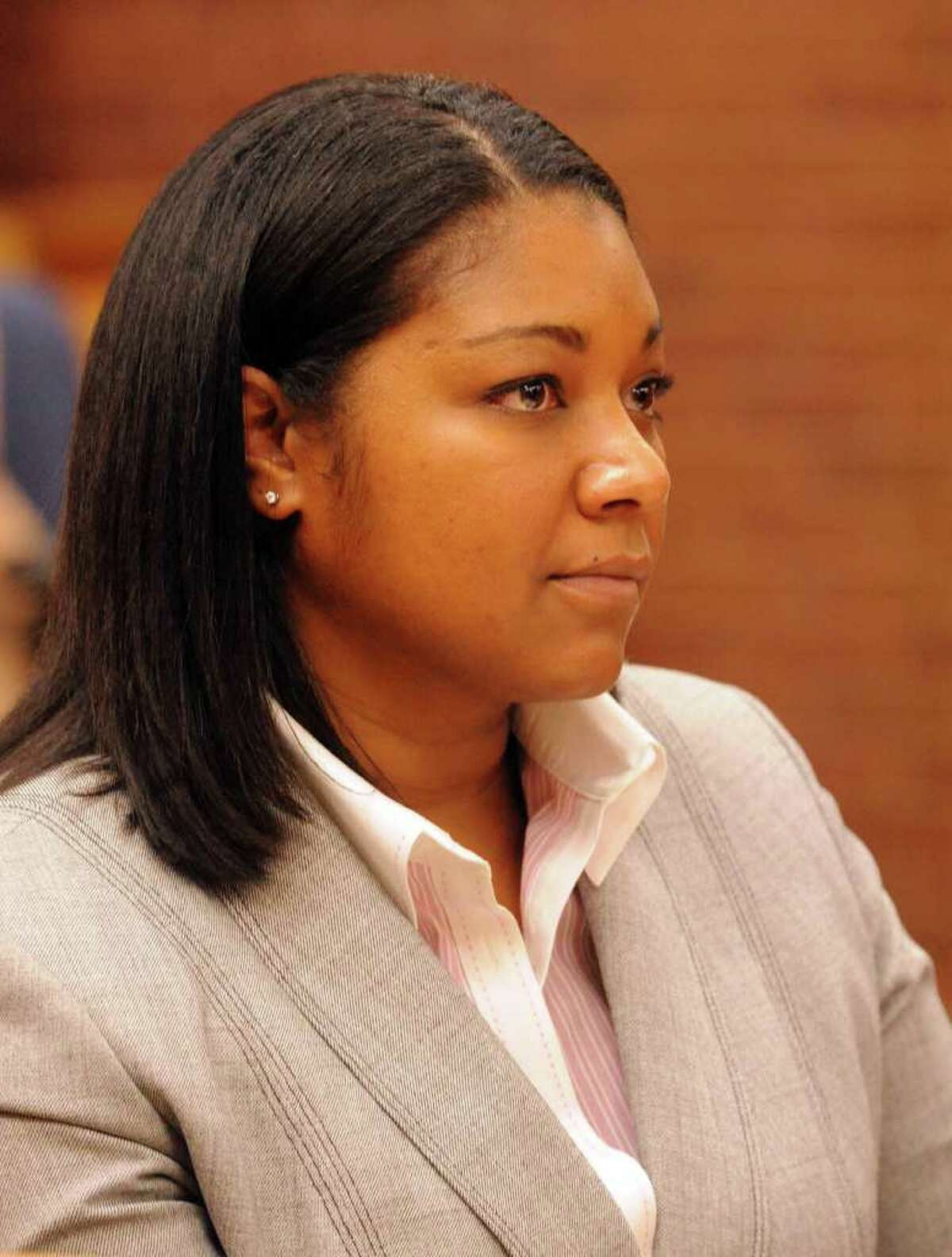 Assistant State's Attorney Sharmese Hodge is the prosecutor in the trial of Danbury businessman Joseph DaSilva Jr..