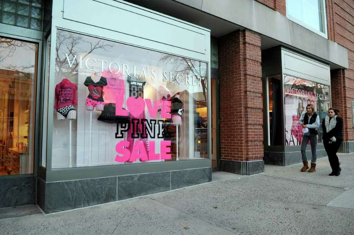 Victoria's Secret on Greenwich Avenue Monday, Jan. 2, 2012. The store is expected to close Jan. 15, according to a source.