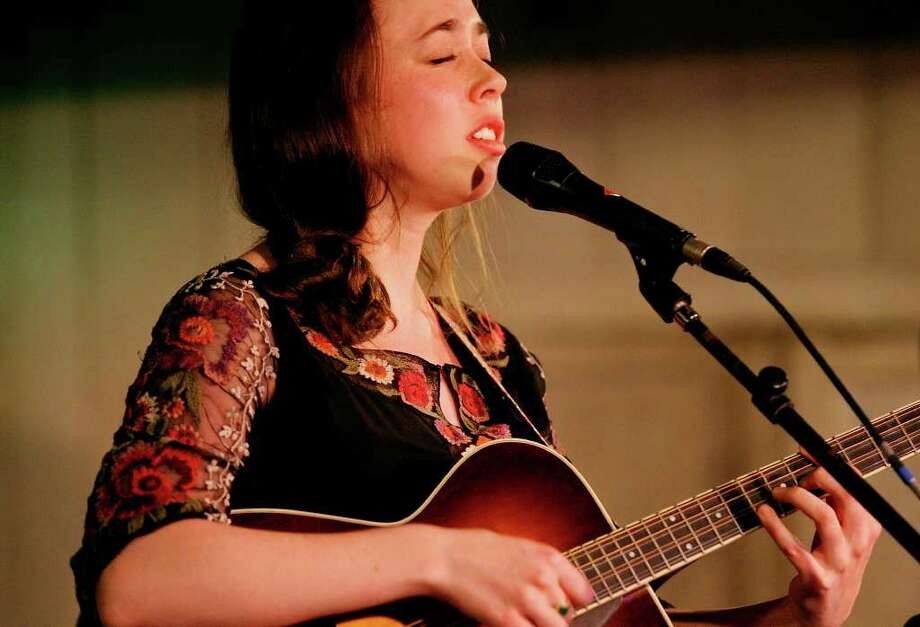 Sarah Jarosz performs Jan. 6, 2012, at Gruene Hall. Photo: EDWARD A. ORNELAS, SAN ANTONIO EXPRESS-NEWS / SAN ANTONIO EXPRESS-NEWS (NFS)