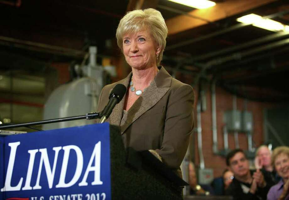 Linda McMahon announces her intention to run for U.S. Senate at Coil Pro Machinery Inc. in Southington on Sept. 20, 2011. Photo: Brian A. Pounds, Greenwich Time File / Connecticut Post