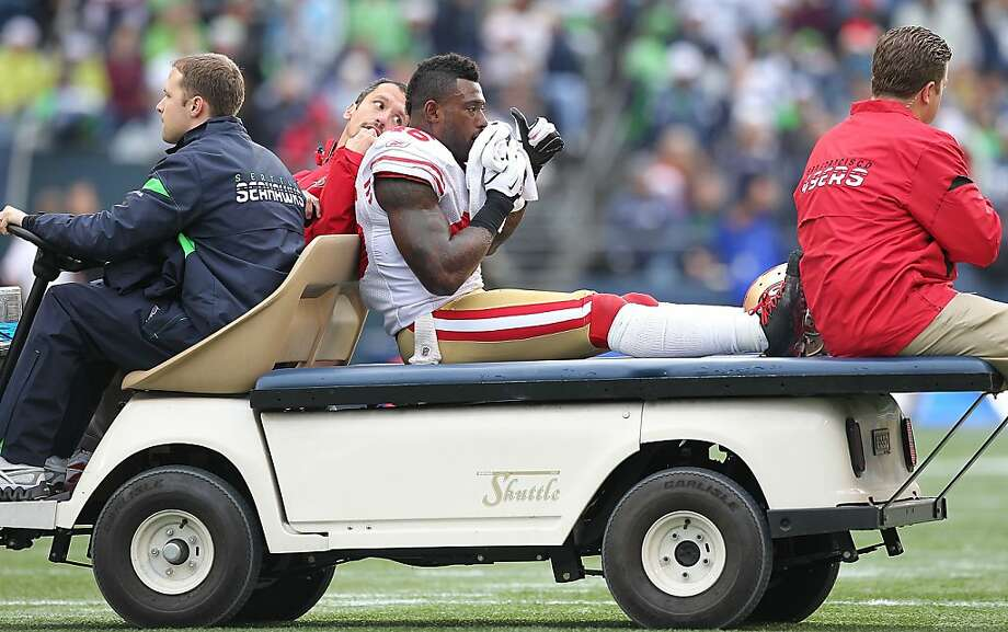 Delanie Walker, carted off the field with a broken jaw Dec. 24, has been cleared for light conditioning. Photo: Otto Greule Jr, Getty