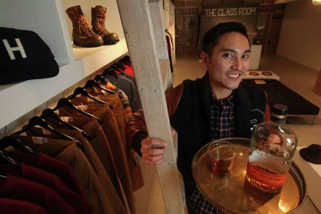 Jon Caballero owner of the Class Room an upscale men 39s clothing boutique
