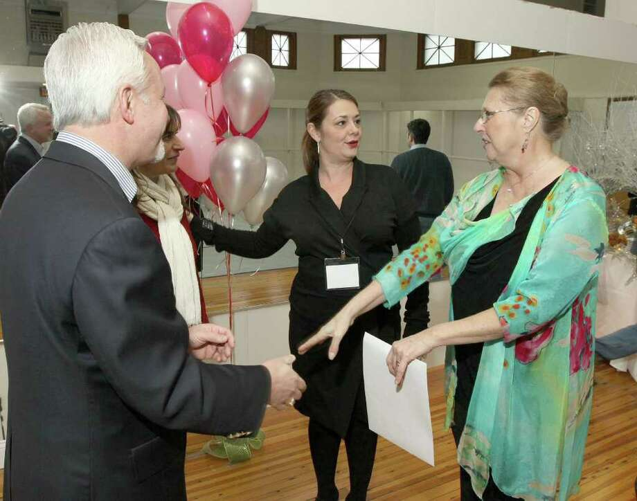 Were you Seen at the Myers Dance Studio Ribbon Cutting in Saratoga Springs on Saturday, Jan. 7? Photo: Joe Putrock/Special To The Times Union