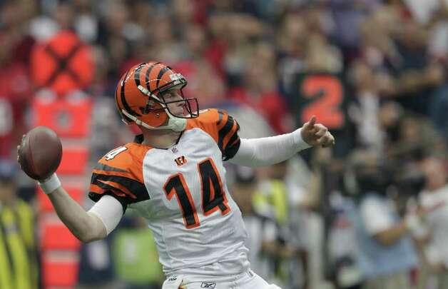 Andy Dalton, Katy (2011-present)  NFL playoff record: 0-4 (Bengals) Photo: Brett Coomer, Houston Chronicle / © 2012  Houston Chronicle