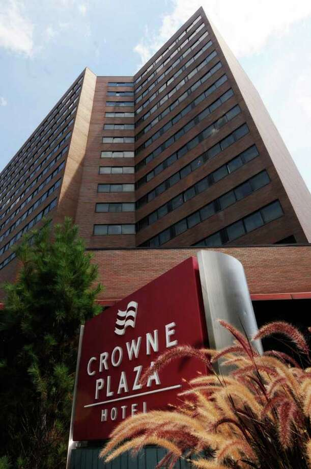 The Crowne Plaza Hotel on State Street in Albany, NY Friday Aug. 19,2011.( Michael P. Farrell/Times Union) Photo: Michael P. Farrell / 00014350A