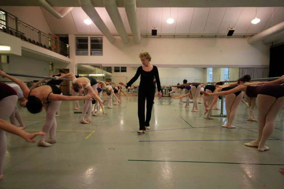Suki Schorer instructs and evaluates hundreds of ballet dancers at Pacific Northwest Ballet in Seattle. Only 200 of the 2,000 auditioners will be chosen for a five-week summer program at the prestigious School of American Ballet in New York City. Photo: SOFIA JARAMILLO / SEATTLEPI.COM