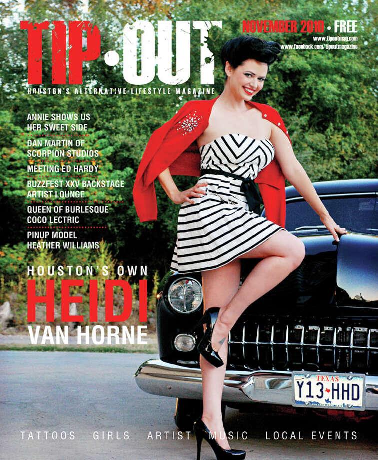 Heidi Van Horne Photo: Angela Morales For Tip Out Magazine