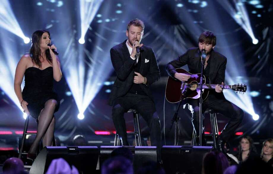 Lady Antebellum will perform on March 1. Photo: Mark Humphrey / 2011 AP