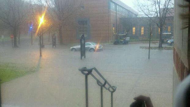 Rainy Monday, Jan. 9, 2012. (Anonymous reader photo) Photo: HC