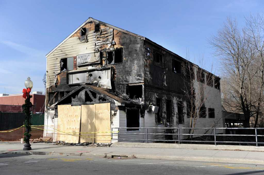 Downtown Danbury Fire Ruled Intentional Newstimes