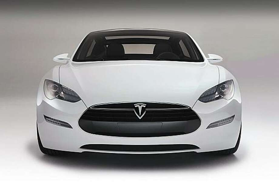 Handout photo from Tesla Motors of their Model S Photo: Tesla Motors