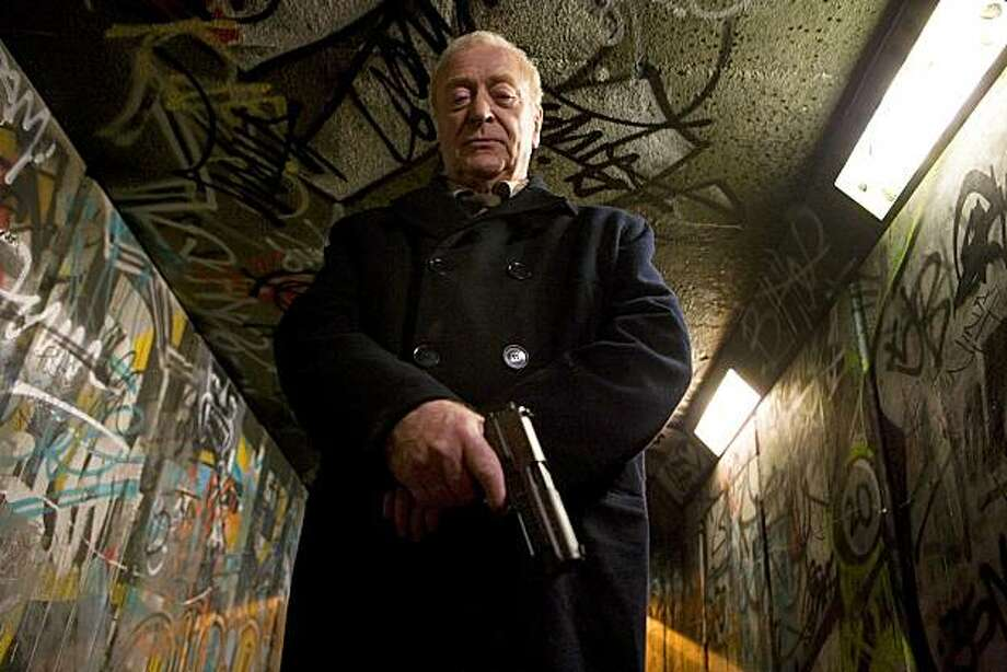 "In this publicity image released by Samuel Goldwyn Films, Michael Caine is shown in a scene from ""Harry Brown."" Photo: Samuel Goldwyn Films, AP"