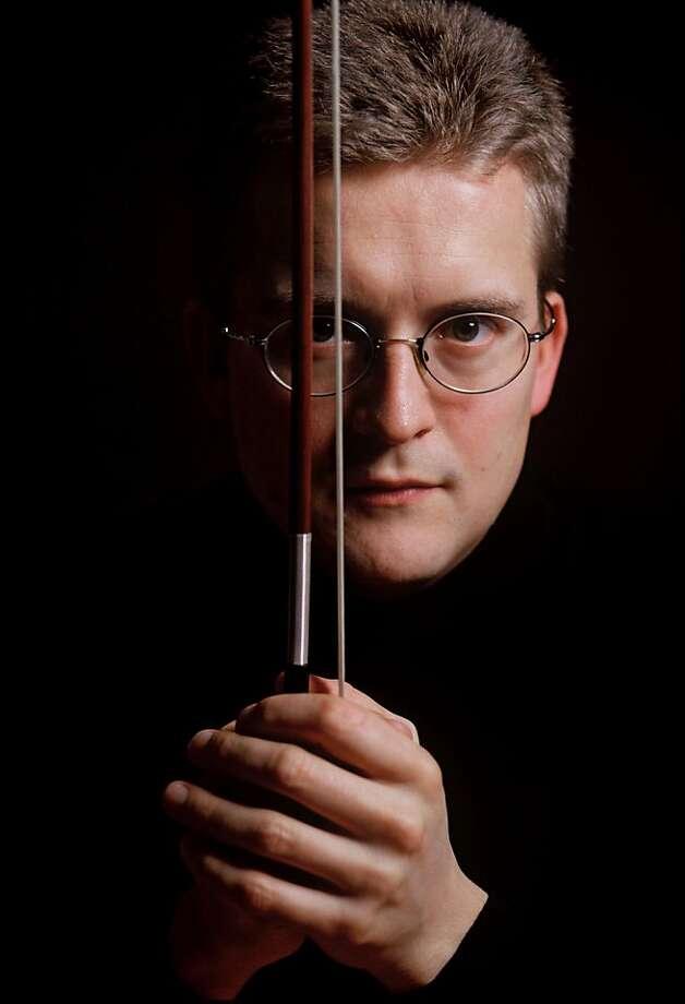 S.F. Symphony violinist Christian Tetzlaff Photo: San Francisco Symphony