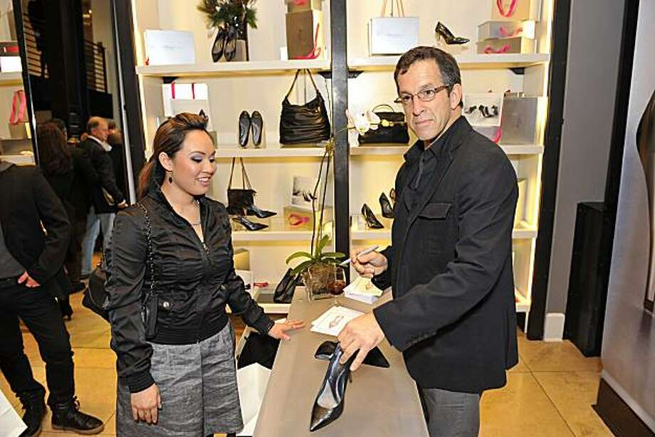"Kenneth Cole made a rare appearance in San Francisco, at his Grant Avenue boutique, as part of a national launch of his new line of ""925"" shoes with comfort insole technology. He was also in town to appear at the San Francisco amFAR gala on Nov. 6, 2009. He is chairman of amFAR, the Foundation for Aids Research. Photo: Courtesy Kenneth Cole"