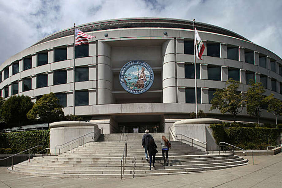The Edmund G. Brown Building, a state office building located at  the 505 Van Ness Ave. in San Francisco, Calif., on Tuesday, March 30, 2010. Photo: Liz Hafalia, The Chronicle