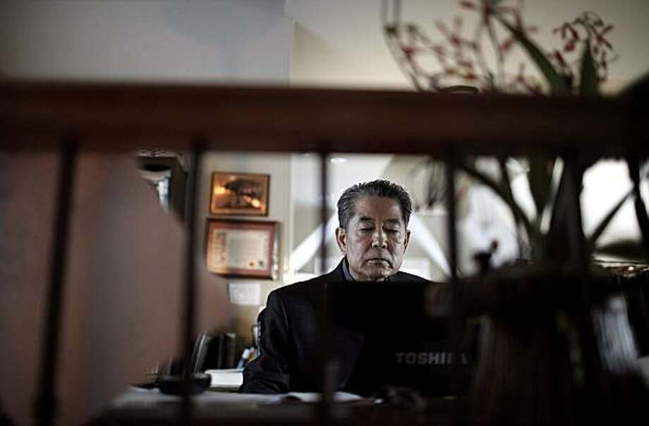 Sam Han works on his computer in his daughter's home in Pasadena, Calif., Monday, Nov. 22, 2010. Separated from his family during the Korean War, Han was sheltered by strangers until an unlikely meeting set him on a remarkable journey to the United States. He was adopted by a Minnesota professor, immigrated under a special bill from Congress and years later became a successful business executive. Han, a 65-year-old cancer patient, wants to give other overseas orphans a shot at making a life for themselves, but there are plenty of obstacles and so much to do. Photo: Jae C. Hong, AP
