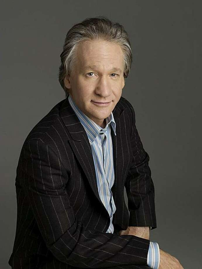 "Bill Maher is about to enter his 9th season of HBO's ""Real Time with Bill Maher."" He's also doing stand-up comedy in Napa and Marin this week. Photo: Alberto Tolot/HBO 2008"