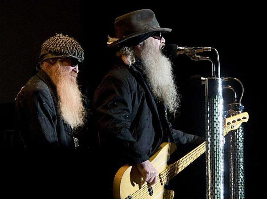 ZZ Top was the headline act Monday night, Aug. 9, 2010, at the Buffalo Chip Campground in Sturgis, S.D. The famed campground is just one of several concert venues at this year's 70th Annual Sturgis Motorcycle Rally, featuring top rock acts all week long. Photo: Steve McEnroe, AP