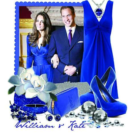 "This Polyvore set, titled ""William & Kate,"" was created by Queen Rachie~ (Template Addict). Photo: Courtesy Polyvore"