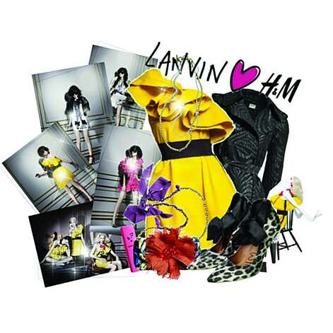 "This Polyore set, titled ""Lanvin & H&M... Love it!"" was created by merii_15. Photo: Courtesy Polyvore"
