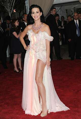 Katy Perry arrives at the Metropolitan Museum of Art Costume Institute gala, May 3, 2010, in New York. Photo: Evan Agostini, AP