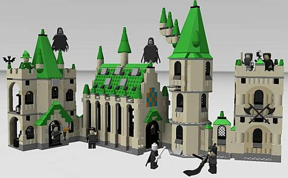 3D Autodesk Instructions for LEGO? Harry Potter? Hogwarts? Castle using their iPad app, Inventor Publisher Mobile Viewer. Photo: Autodesk, Inc.