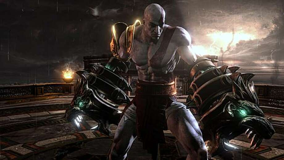 Kratos acquires ever more brutal weapons and skills in his quest for revenge against his father Zeus in God of War III. Photo: Sony