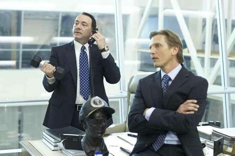 Kevin Spacey and Barry Pepper in CASINO JACK Photo: Cinema.com