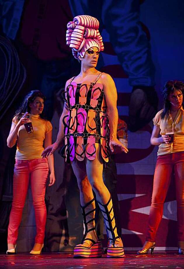 """In this undated publicity image released by Toronto's Princess of Wales Theatre, Will Swenson is shown in a scene from """"Priscilla Queen of the Desert the Musical,"""" in Toronto. Photo: Joan Marcus, AP"""