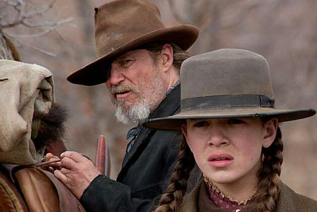 "Jeff Bridges plays Rooster Cogburn and Hailee Steinfeld plays Mattie Ross in Paramount Pictures' ""True Grit."" (Lorey Sebastian/Courtesy Paramount Pictures/MCT) Photo: Handout, MCT"