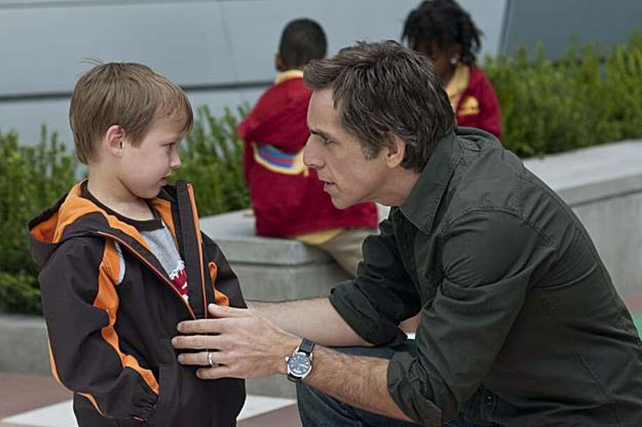 """In this film publicity image released by Universal Pictures, Colin Baiocchi, left, and Ben Stiller are shown in a scene from """"Little Fockers."""" Photo: Glen Wilson, AP"""