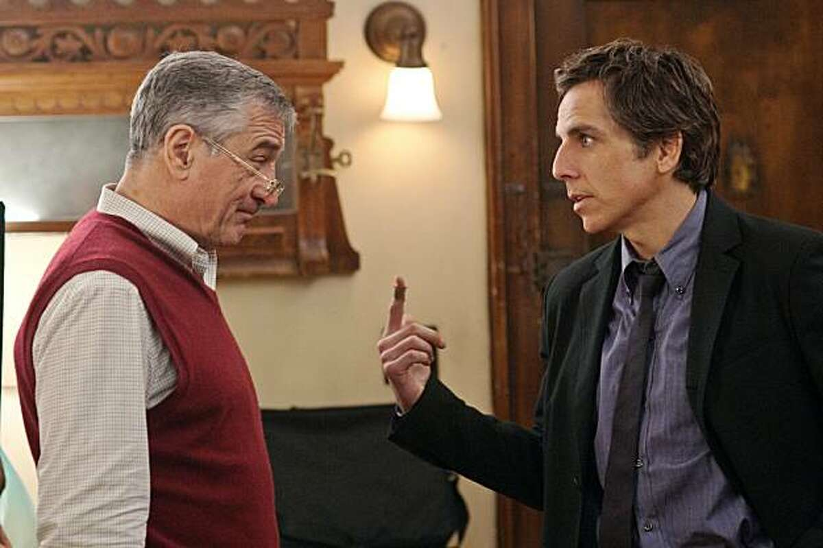 Robert De Niro, left, and Ben Stiller appear in a scene from,