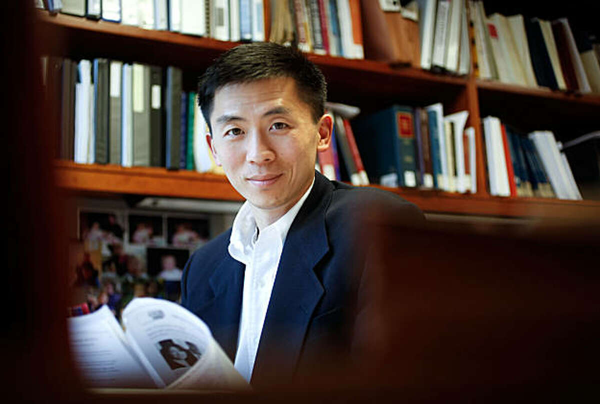 The office of UC Berkeley's, Goodwin Liu, who is an Associate Dean and a Professor of Law, at UC Berkeley, on Friday Mar. 12, 2010, in Berkeley, Calif. Liu, has just been nominated by President Obama to the Ninth U.S. Circuit Court of Appeals.