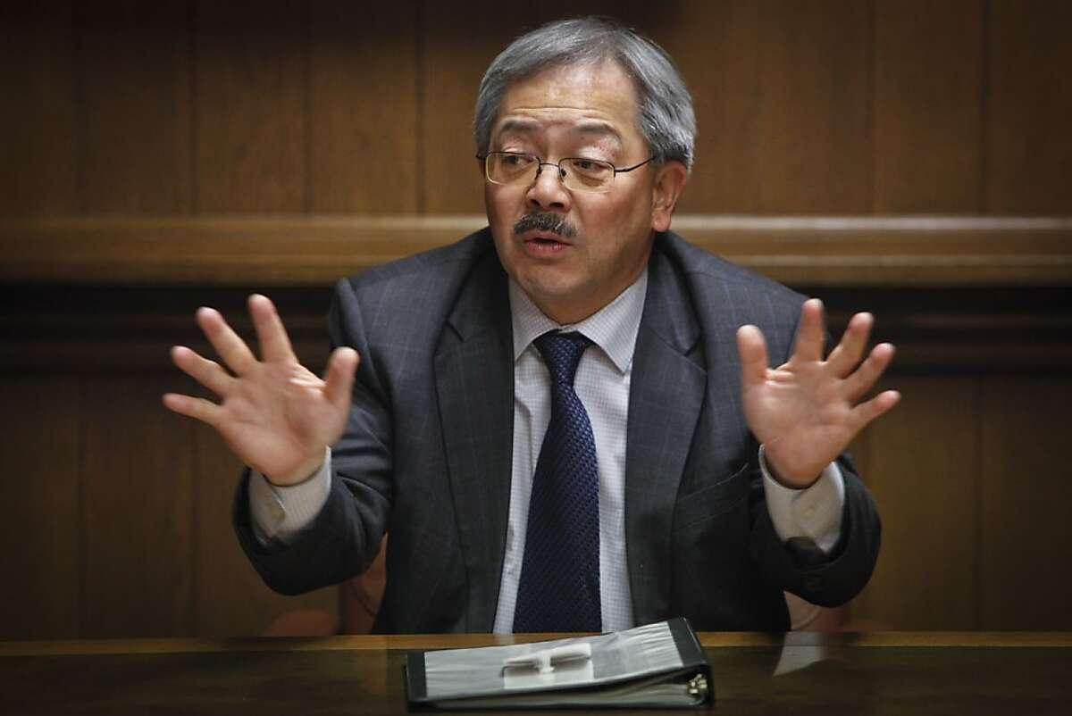 San Francisco's Mayor Ed Lee