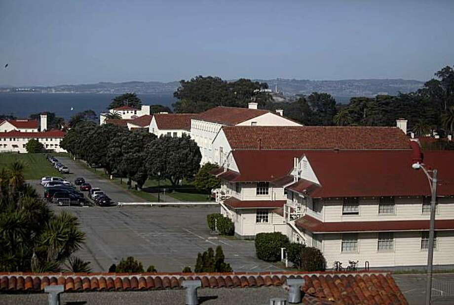 World War II era barracks also known as building 41 and 40 on the Presidio stand out from other fancier buildings in the trust on Friday March 26, 2010 in San Francisco, Calif. Photo: Mike Kepka, The Chronicle