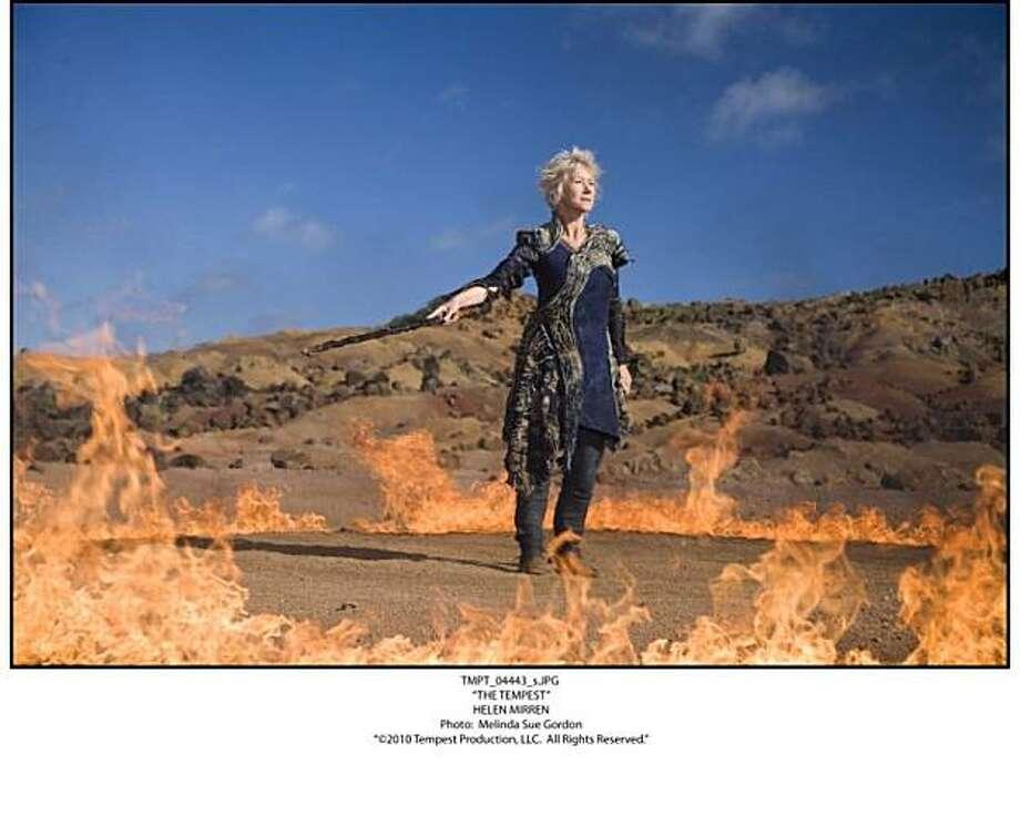 "Helen Mirren in ""The Tempest"" Photo: Outnow.ch"