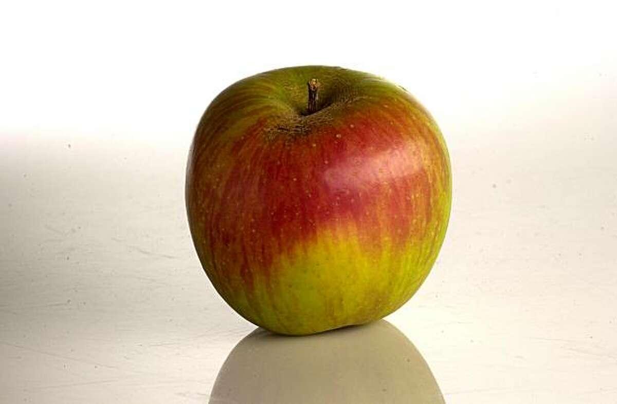 Gravenstein apples are among the 24 varieties found at Walker Apples in Sebastopol.